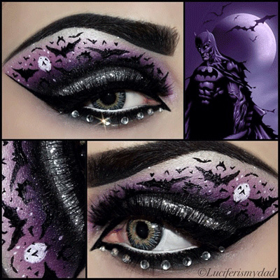 Comics Inspired Eye Make up