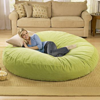 bean-bag-bed1 giant pillow 1