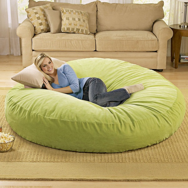 Giant Bean Bag Chair Lounger Alldaychic