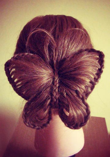 butterfly hairstyle 1