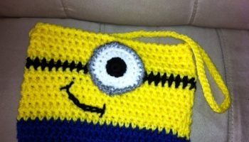 despicable me minion purse bag