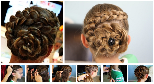 Very elegant, this hairstyle is not easy to make, but if you know the ...