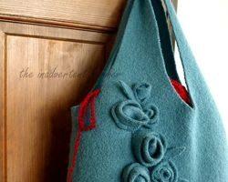 old sweater handbag 1