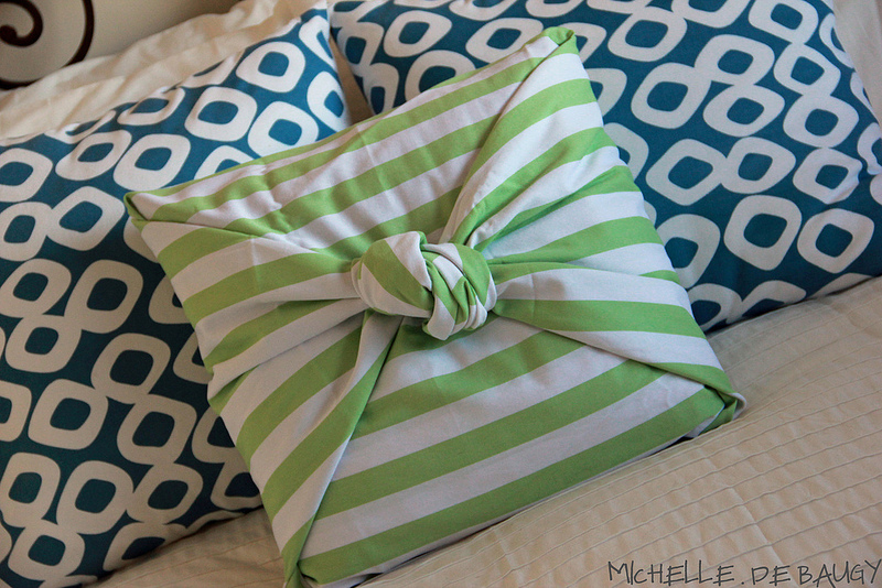 Diy No Sew Tie Pillow: No Sew Pillow Case   DIY   AllDayChic,
