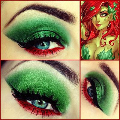 Comics Inspired Eye Make Up Alldaychic