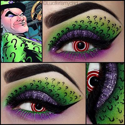 riddler-makeup
