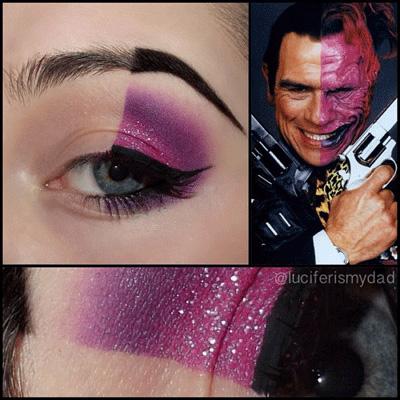 two-face-makeup