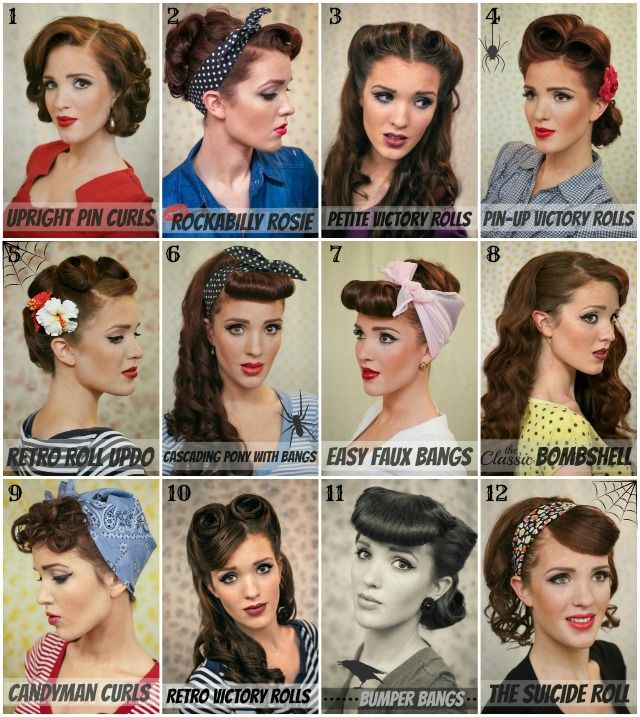 Original Vintage Pin Up Hair 50s Pin Up Hairstyles For Short Hair This Style