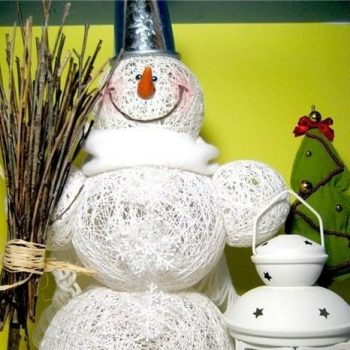 Creative Way to Make a Snowman – DIY