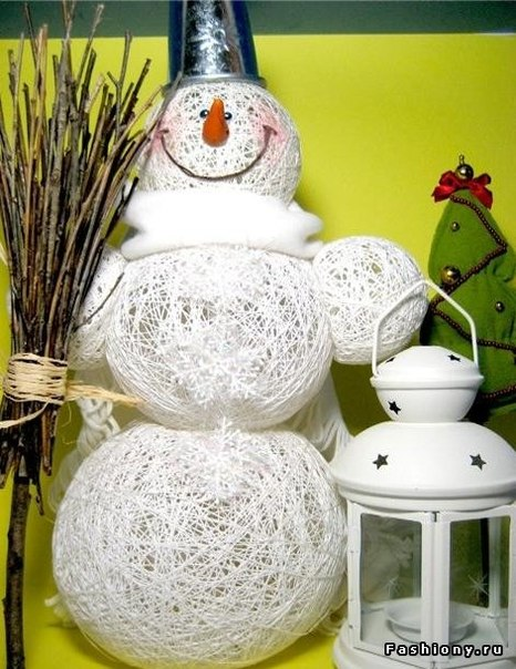 Creative Way to Make a Snowman - DIY