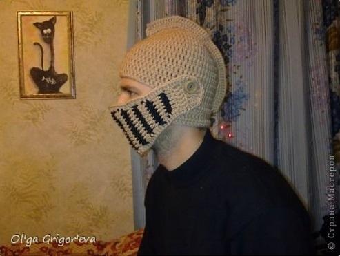Crochet helmet diy