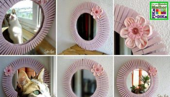 Cute Decorations Using Pegs (2)