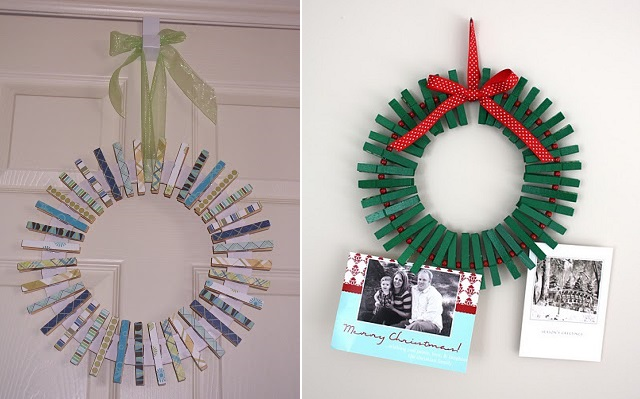 Cute Decorations Using Pegs (3)