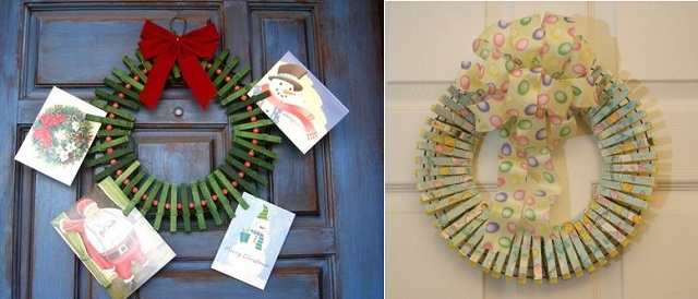Cute Decorations Using Pegs (4)