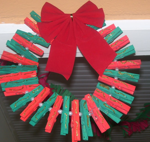 Cute Decorations Using Pegs