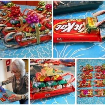 How to Make Adorable Candy Sleighs – DIY