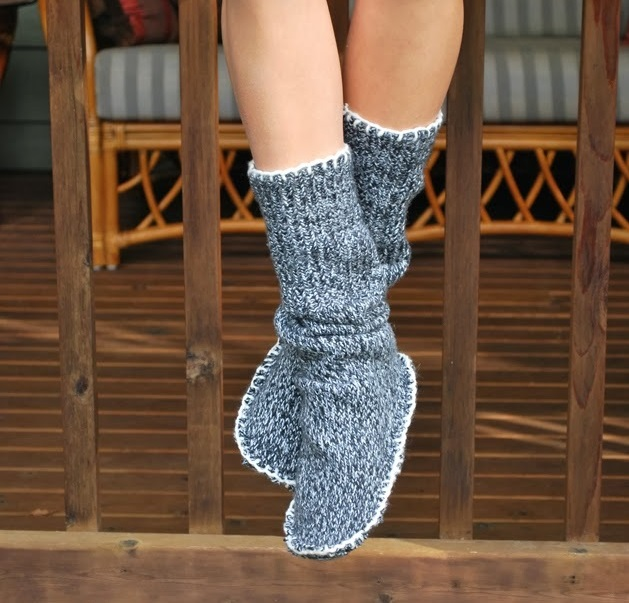 How-to-Make-Sweater-Slipper-Boots