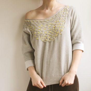 Jersey Weave Sweatshirt – DIY