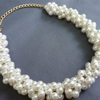 Pearl Beads Necklace – DIY (2)