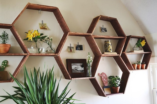 The Honeycomb Shelves