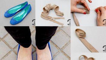 Zipper Flower Embellishments – DIY