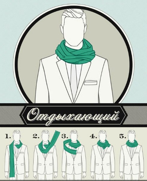 6 Ways to Tie a Man Scarf (3)