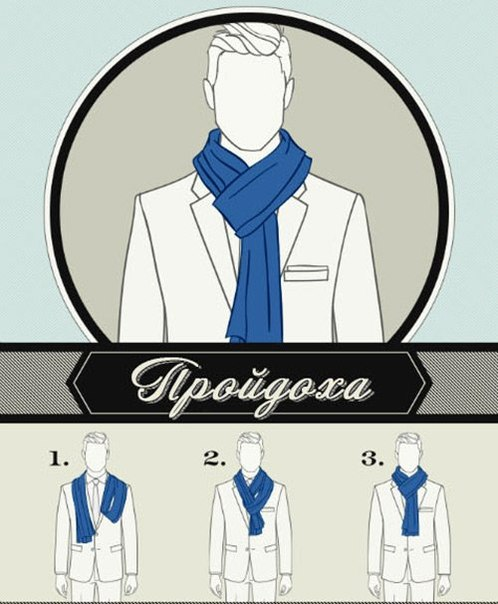 6 Ways to Tie a Man Scarf (5)