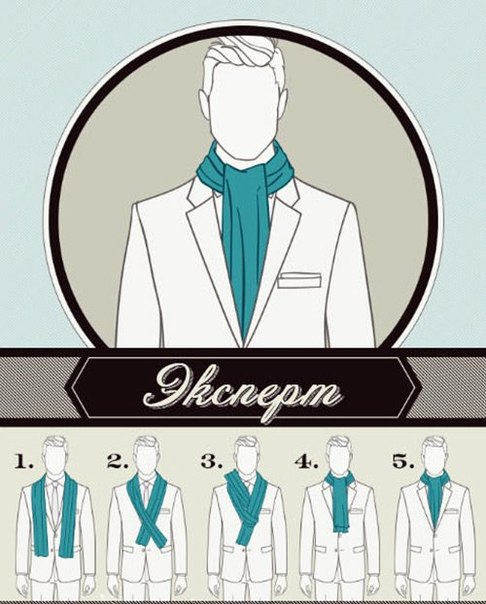 6 Ways to Tie a Man Scarf (6)