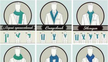 6 Ways to Tie a Man Scarf (7)