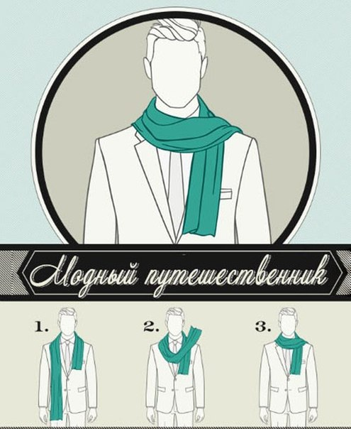 6 Ways to Tie a Man Scarf