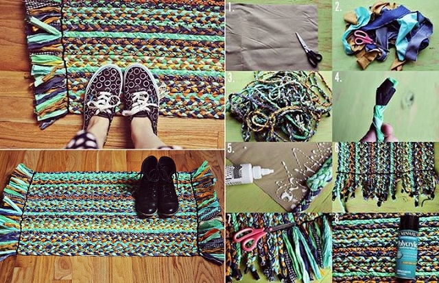 Beautiful Braided Rug   DIY