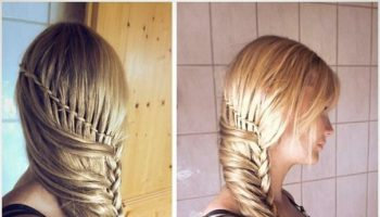 Braided hairstyle – DIY