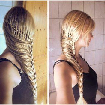 Braided hairstyle – DIY