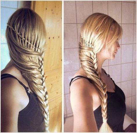 Fine Stylish Braided Hairstyle Tutorial Alldaychic Short Hairstyles Gunalazisus