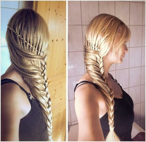 Fabulous Stylish Braided Hairstyle Tutorial Alldaychic Hairstyle Inspiration Daily Dogsangcom