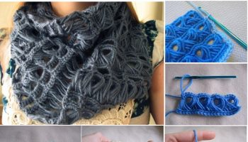 Chic Crochet Scarf – DIY