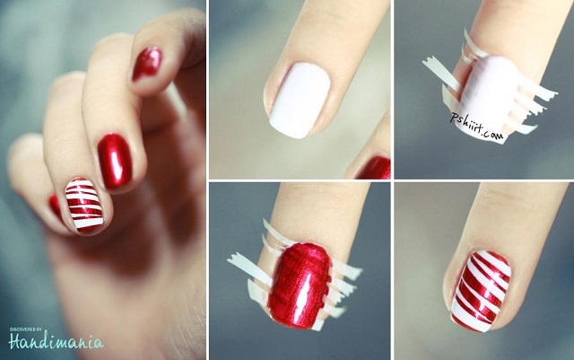 Christmas Nail Design Idea - Lovely Nail Design Idea - AllDayChic