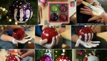 Easy Way to Make Amazing Christmas Tree Balls – DIY