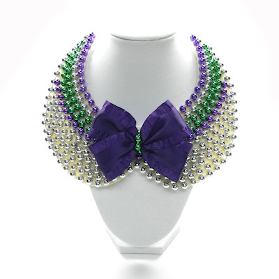 Elegant Beaded Collar Necklace – DIY