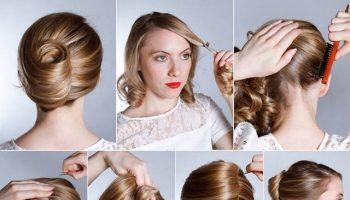 French Hairstyle Banana Twist – DIY