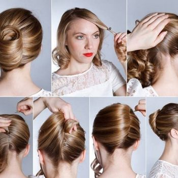 French Hairstyle Banana Twist – DIY