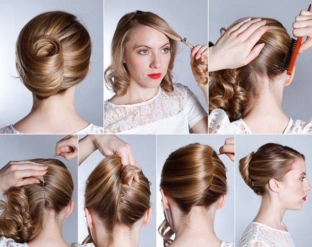 French Hairstyle Banana Twist - DIY