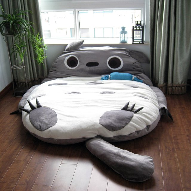Funny Cozy Bed Totoro AllDayChic : Funny Cozy Bed Totoro from alldaychic.com size 640 x 640 jpeg 71kB