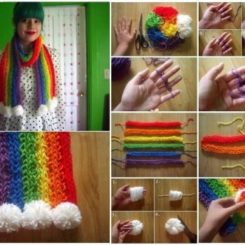 How to Create Finger Knitted Scarfs – DIY