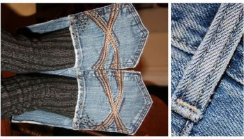 How to Make Denim House Slippers – DIY