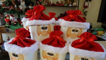 Ice-cream-box-Santa-Clause