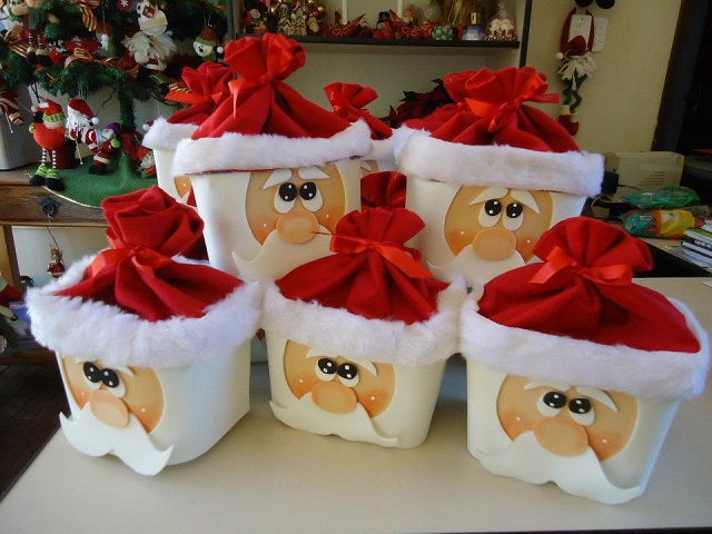 Cute santa claus decorations diy alldaychic