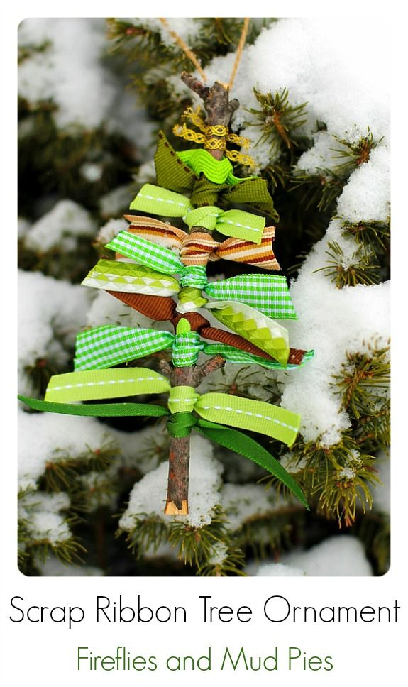 Rustic christmas tree ornaments diy alldaychic for Home made christmas tree decorations