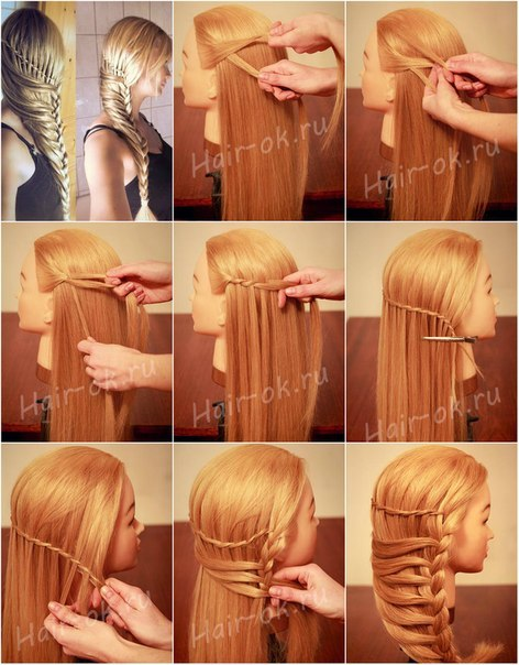 Awesome Stylish Braided Hairstyle Tutorial Alldaychic Short Hairstyles Gunalazisus