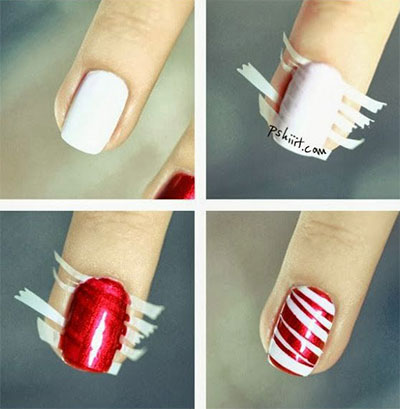 Christmas Nail Polish Designs Step By Step Creative Touch